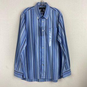 TOMMY HILFIGER Blue Stripe Shirt